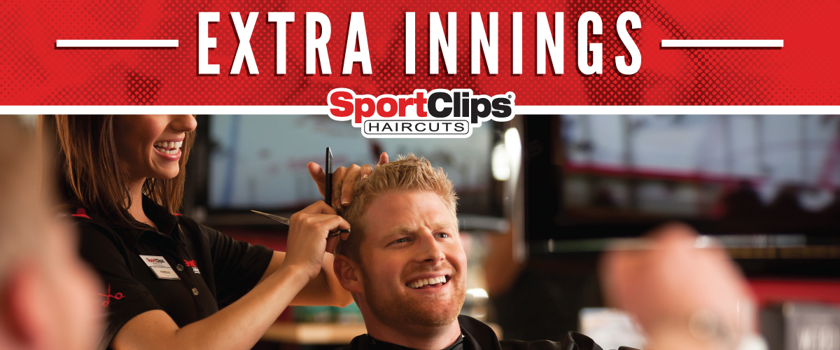 The Sport Clips Haircuts of Prescott Extra Innings Offerings